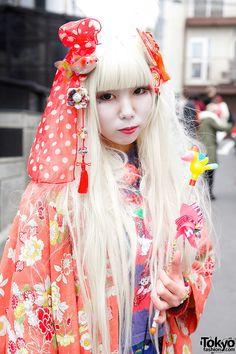 Harajuku Shironuri Girl, tokyofashion.com