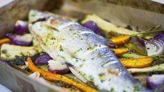 Bela riba pečena u rerni - recept | 24Kitchen