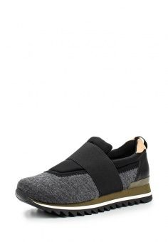 Слипоны Gioseppo, цвет: серый. Артикул: GI022AWJYX30. Женская обувь / Слипоны