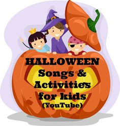 10 videos full of fun, non scary activities and songs for young children!