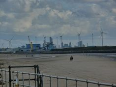 Liverpool Skyline from Crosby