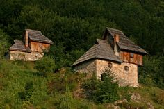 Country Lifestyle, Serbian, Eastern Europe, Homeland, Countryside, Graphic Art, Concept Art, Places To Visit, Cabin