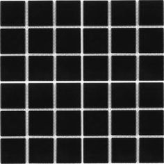Black Glossy, x - Porcelain Pool Tile Modern Mosaic Tile, Mosaic Tiles, Black Exterior, Interior And Exterior, Exterior Tiles, Tile Floor, Porcelain Tiles, Beautiful, Things To Sell