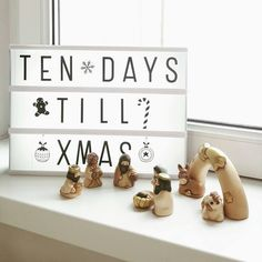 Christmas - Decoration Betlehem and lightbox Xmas golden miracle Lightbox, Christmas Decorations, Xmas, Create, Christmas, Navidad, Noel, Natal, Christmas Decor