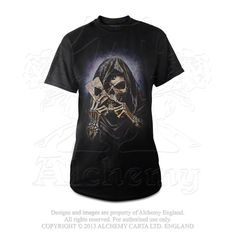Alchemy of England - BT736 - Reaper's Ace T-Shirt, $31.50 (http://www.alchemyofengland.com/bt736-reapers-ace-t-shirt/)