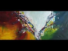 "Abstrakte Acrylmalerei Demo ""Karneval"" - Abstract Acrylic Painting Demo ""Carnival"" - YouTube"