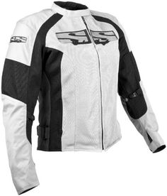 Special Offers - Speed and Strength womens White/Black Radar Love Mesh Jacket  Small - In stock & Free Shipping. You can save more money! Check It (May 22 2016 at 07:33AM) >> http://motorcyclejacketusa.net/speed-and-strength-womens-whiteblack-radar-love-mesh-jacket-small/