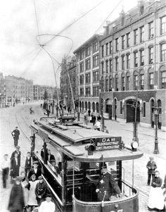 Tramway Amsterdam 1903  Unionwagon - Bilderdijkstraat - 1e Constantijn Huygenssstraat.