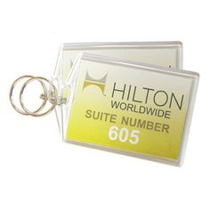 Promote your brand with promotional keychain, shop from Vivid Promotions Australia. This personalised Hotel Keychain is a handy reminder of your excellent service. #PlasticKeychains #PromotionalPlasticKeychains #HotelKeychain #promotionalkeychains #imprintedPlasticKeychain #personalisedKeychain