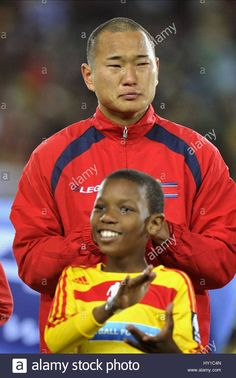 Download this stock image: JONG TAE SE BRAZIL V NORTH KOREA ELLIS PARK  SOUTH AFRICA 15 June 2010 - hy1c4n from Alamy's library of millions of high resolution stock photos, illustrations and vectors.