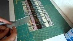 How to make a Bargello quilt.  Interesting