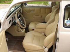 Jip. This is called interior for a beetle.                                                                          ...