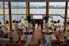 """""""Loetje aan 't IJ"""" serves a delicious steak & fries with fantastic views over the IJ river 