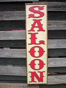 OLD WEST SALOON WHISKEY BEER DEADWOOD TOMBSTONE PUB BAR DECOR WOOD SIGN LETTERS