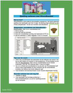 Gebruiksaanwijzing installatie Woordkasteel een fantastisch gratis spellingprogramma.