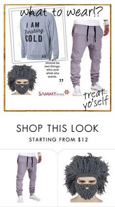"""Sammy Dress 36/60"" by almin-sturm ❤ liked on Polyvore featuring men's fashion, menswear, women, sammydress and fashionset"