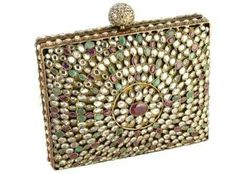 The moghul box full of kundan rubies emeralds...,