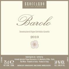 Broccardo Barolo 2012 - buy 6 bottles and get 2 bottles FREE!