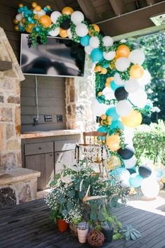 Check out Scarlett Events Party Kits First Birthday Pictures, Happy First Birthday, Birthday Themes For Boys, Happy Birthday Balloons, First Birthday Parties, Birthday Party Themes, First Birthdays, Bohemian Birthday Party, Wild One Birthday Party