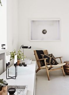 Astounding Diy Ideas: Minimalist Decor Bohemian Rugs minimalist home interior closet.Minimalist Home Architecture Big Windows white minimalist bedroom gold.Simple Minimalist Home Couch. Home Interior, Interior Architecture, Interior And Exterior, Interior Styling, Nordic Interior, Interior Livingroom, Apartment Interior, Apartment Ideas, Apartment Therapy