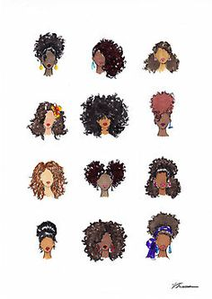How To Be Curly by veronicamarch Love this art!!!