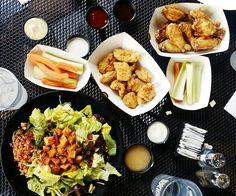 food, foodporn, brunch, salade, chicken food