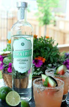 The Firecracker - Watermelon Cucumber and Mint Cocktail