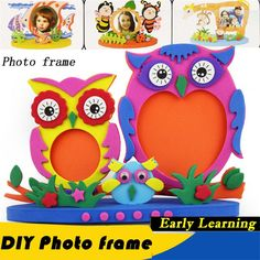 3D DIY Photo Owl Foam Frame - Under $10 Toys, Gifts and Accessories For Kids