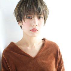 佐脇 Girl Short Hair, Short Hair Cuts, Short Hair Styles, Short Shag Hairstyles, Asian Hair, Love Hair, Pixie Haircut, Hair Inspiration, Hair Makeup