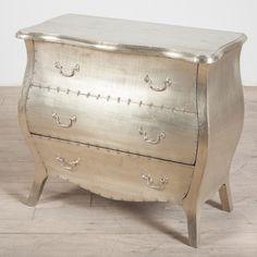 Corbett White Metal 3-Drawer Dresser (India)http://www.overstock.com/Home-Garden/Hand-painted-Mirrored-Drawer-Accent-Chest/3928244/product.html?cid=202290&kid=9553000357392&track=pspla&ef_id=UhA2xAAABINkD3lK:20140115050714:s