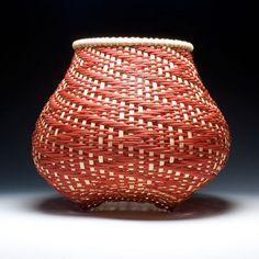Fibonacci Rising basket pattern!