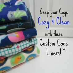 Have you tried our fabulous fleece cage liners yet? These are the perfect cost-effective alternative to wood shavings. These warm and cozy fleece blankets are great for rabbits, hedgehogs, guinea pigs, and all your furry friends...
