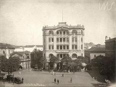 Galeria dos Hoteis  Vista do Largo de São Francisco de Paula  Malta, Augusto (1915 circa)
