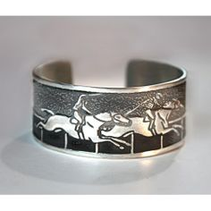 """Get in the spirit for the #Belmont with the Horse Lady """"Race"""" Cuff Bracelet!"""