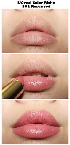 """✿ღ Queen's Eye ღ✿: L'oreal Color Riche Lipstick Rosewood"""" - Makeup Ideas Beauty Make-up, Beauty Skin, Beauty Hacks, Hair Beauty, Beauty Tips, Makeup Inspo, Makeup Inspiration, Makeup Ideas, Makeup Geek"""