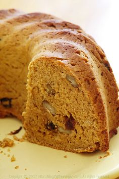 Persimmon Bread  (printer-friendly version)  I baked this bread in a small, silicone bundt pan, but you can use a regular bread pan, prefera...