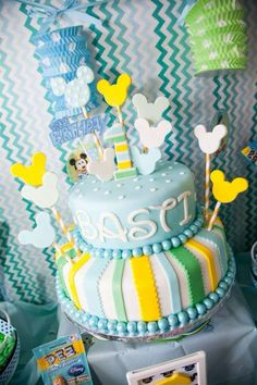 Baby Mickey Mouse Birthday Party Ideas | Photo 2 of 40 | Catch My Party
