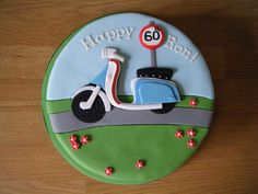 Scooter Cake (1) | Flickr - Photo Sharing!