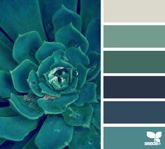 Vert - Bleu, #PaletteDeCouleurs