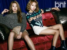 Melody Day Get Serious for 'International bnt' Pictorial! | Koogle TV