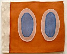 Louise Bourgeois, fabric panels/pages from a book