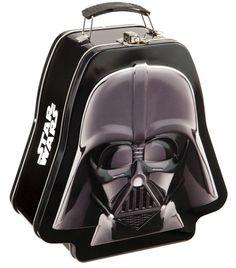 Star Wars Darth Vader Shaped Lunch Box http://www.jedipedia.net/wiki/Darth_Vader