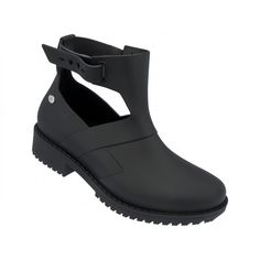 cbe5da13c8a73 Mel Dreamed by Melissa |Open Boot Black | www.melshoes.com Melissa Shoes