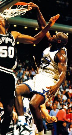 O'Neal was drafted by the Orlando Magic with the first overall pick in the 1992 NBA Draft. He quickly became one of the top centers in the league, winning Rookie of the Year in 1992–93 and later leading his team to the 1995 NBA Finals. He is one of the most dominate players ever winning 4 Championships, 3 Finals MVPs, 15x All Star and scoring near 29,000 pts.