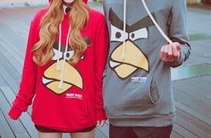 Angry Birds couple sweatshirts