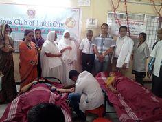 Hubli City Lions Club (India) | Lions held a blood donation camp