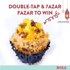 #NOLAFazoora: Which is the best seller from the Ramadan Desserts. Winner gets a box of 6 cupcakes.  #NOLARamadan  Rules: Must collect prize today // one winner only // picked by random // Must like picture and comment to win !!