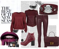 Fall Coolest Trend Oxblood, Burgundy or Bordeaux