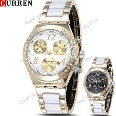 http://www.tinydeal.com/it/curren-stainless-steel-quartz-watch-w-false-sub-dial-f-women-p-110971.html  (CURREN) Stainless Steel Quartz Watch Analog Wristwatch Timepiece