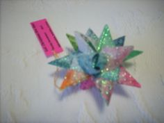 German Star made from strip of paper. EASY!!!